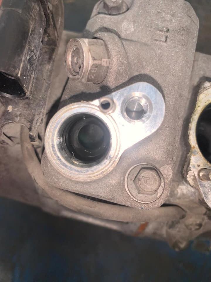 Kompressorschaden