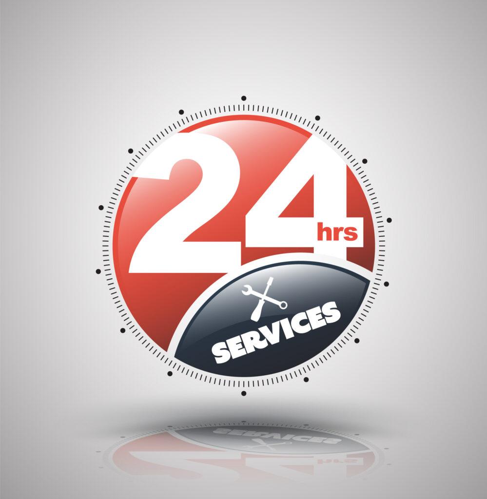 24/7 Notfall-Service